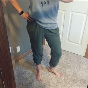 Pants - Olive Harem Pants